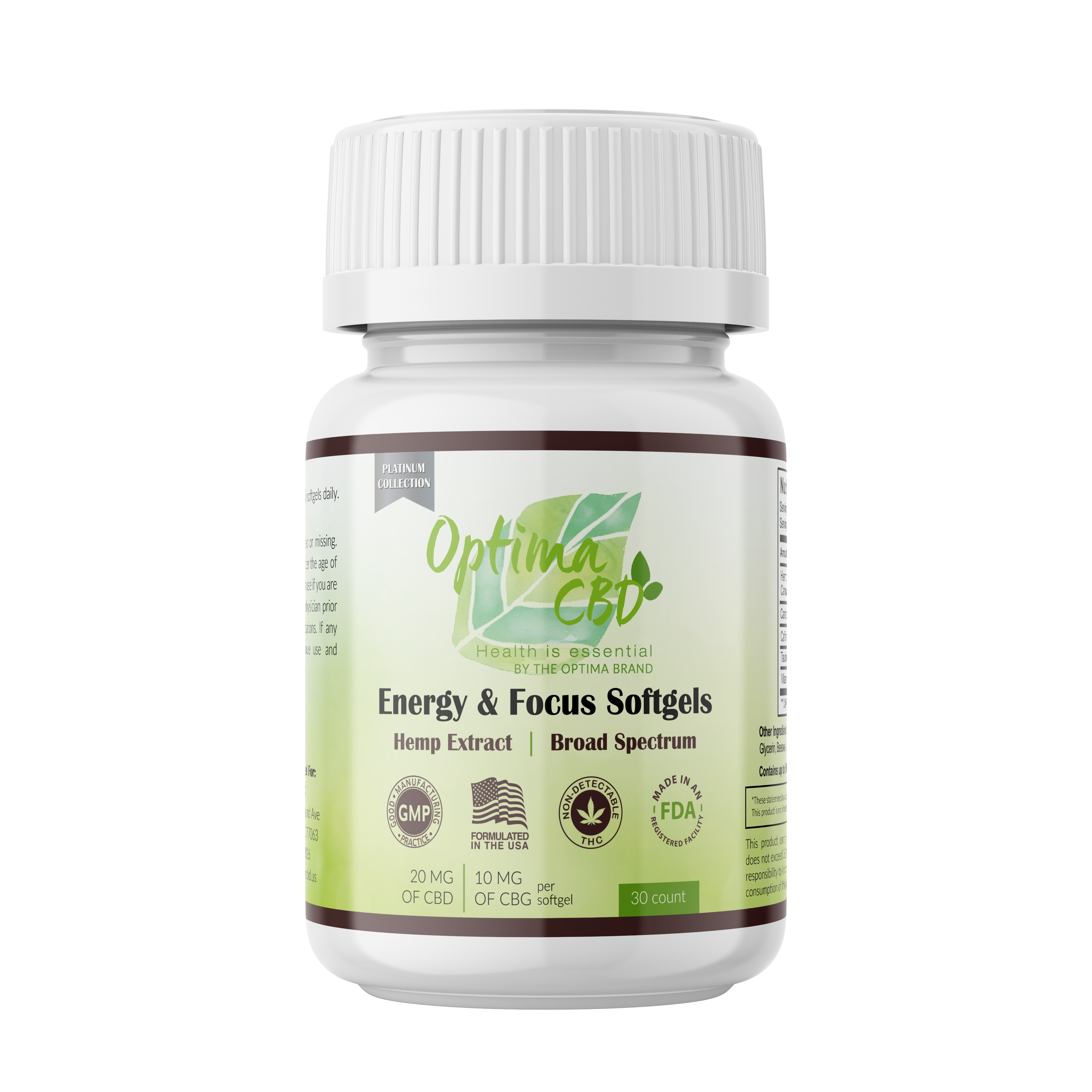 Energy and Focus Soft-gels